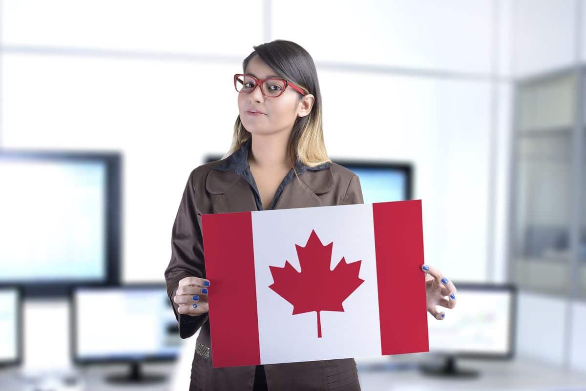 Работа без языка в Канаде