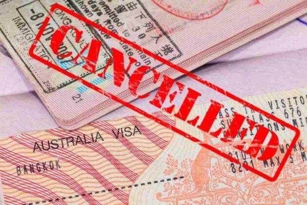 Австралия: отказ в визе