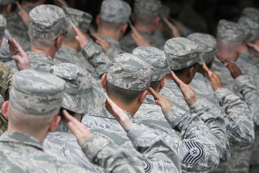 Отбор в армию в США