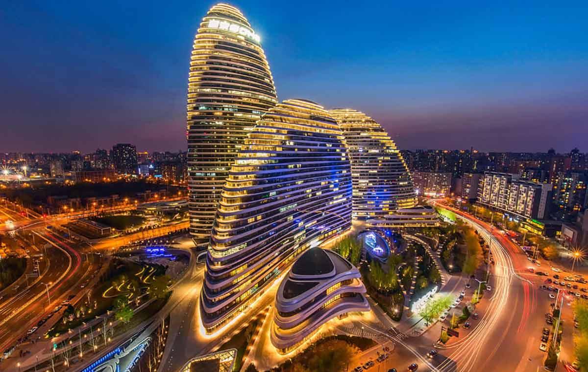 Ночной туризм в Пекине