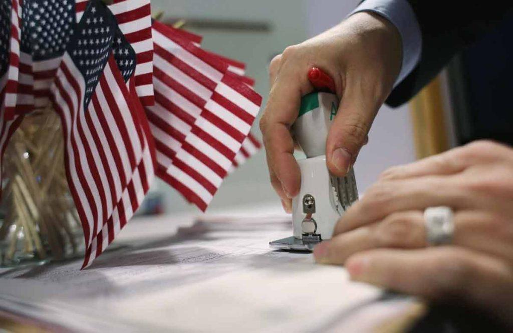 Разрешение на въезд в Америку
