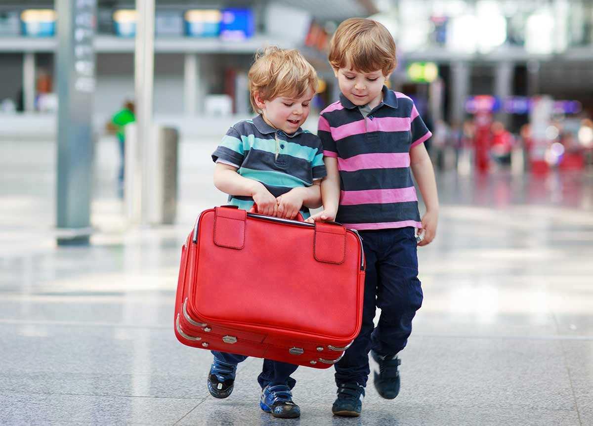 В Германию с ребёнком