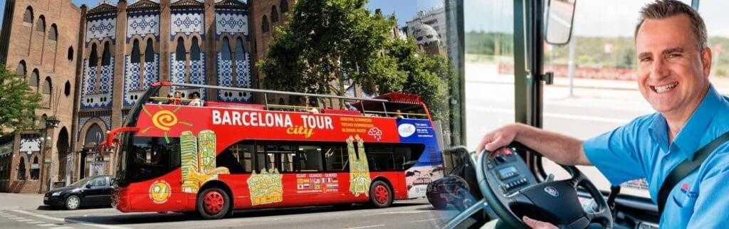 Работа водителем автобуса в Барселоне, Испания