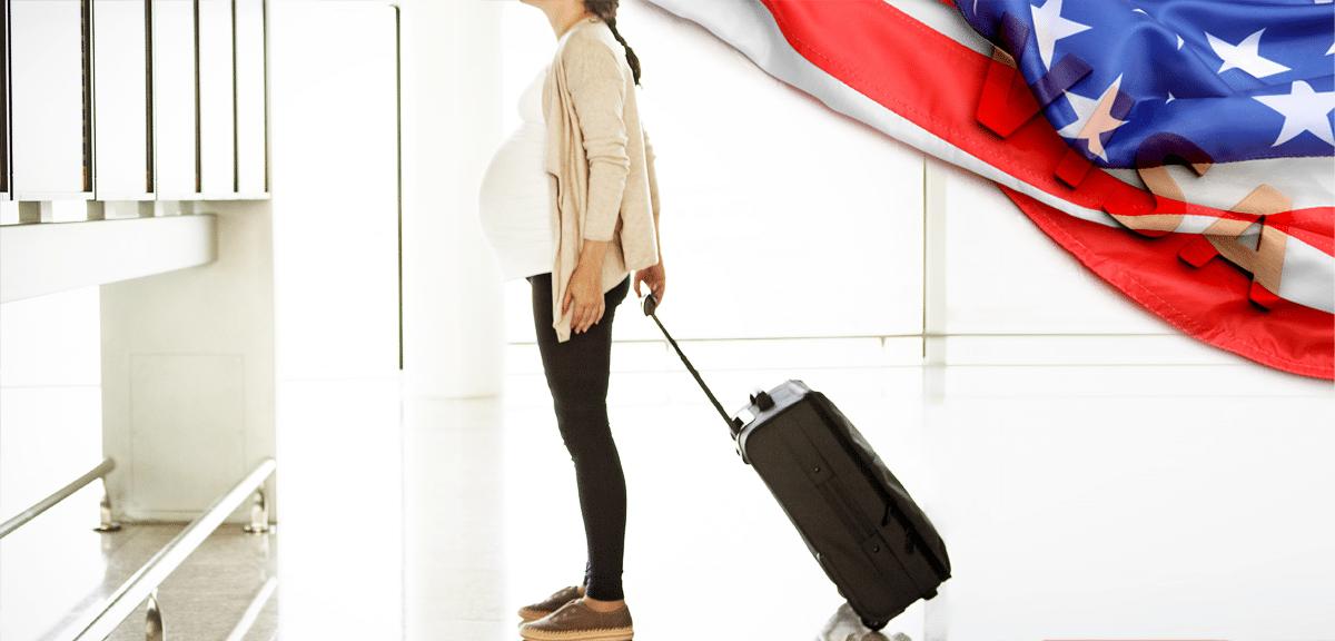 Виза для беременных в США