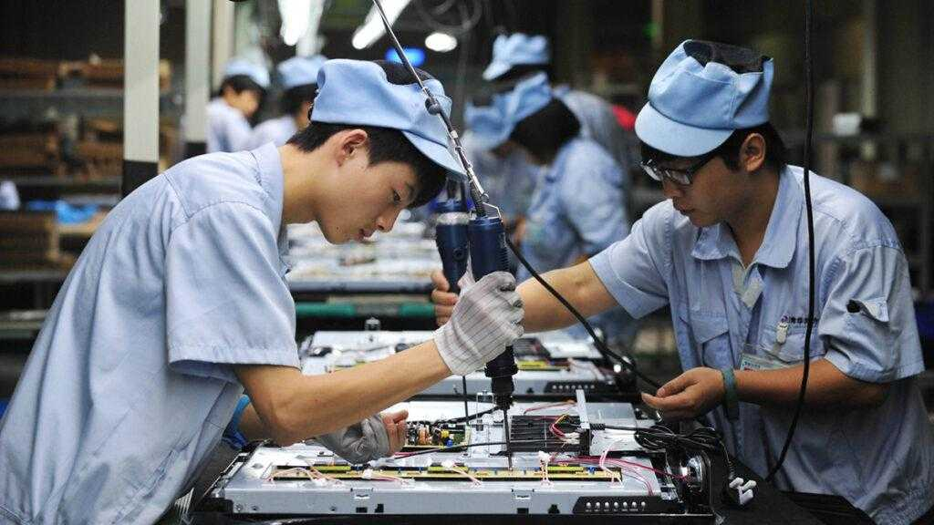 Работники японцы