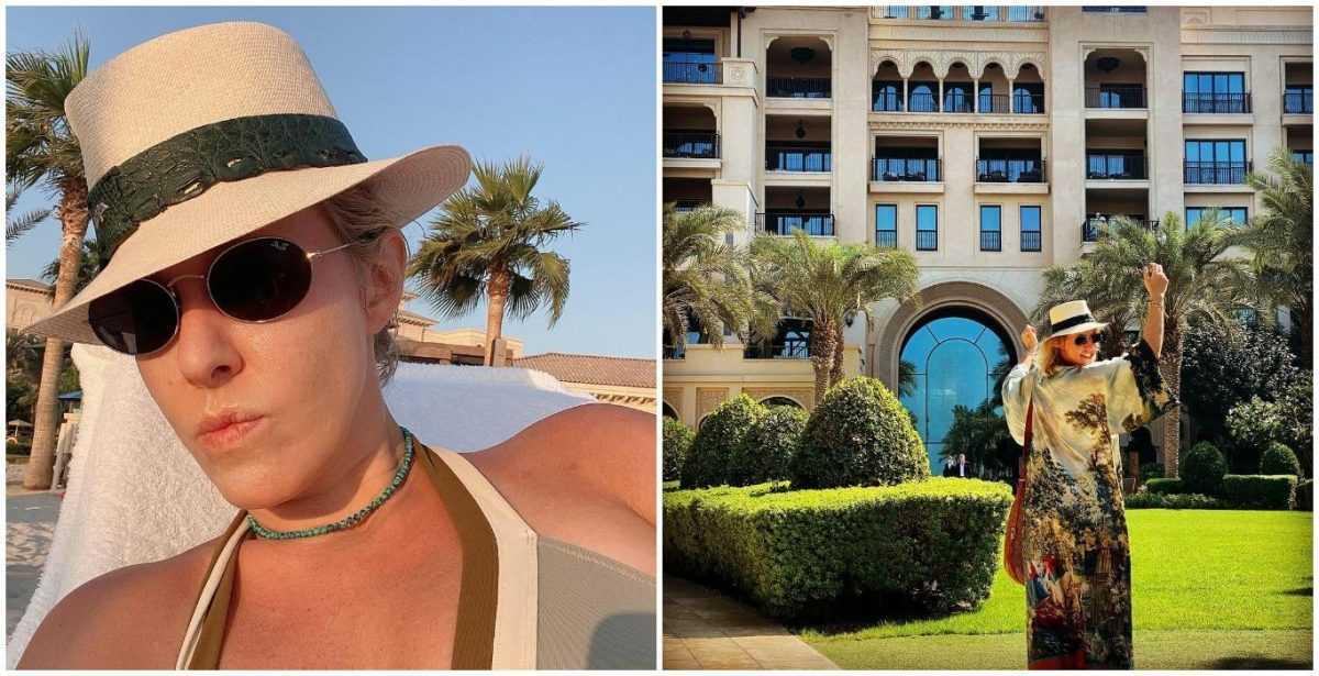 Ксения Собчак рассказала об отдыхе в Дубае