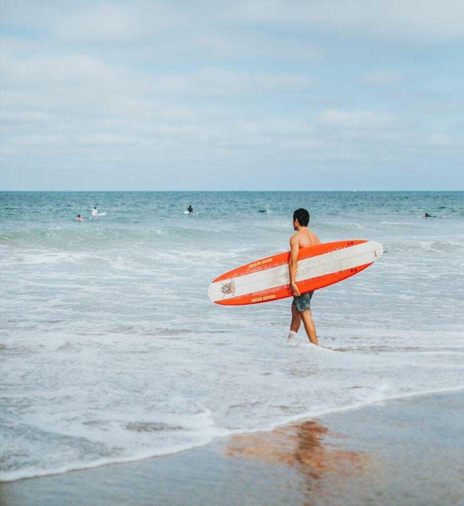 на Кубе популярен Серфинг