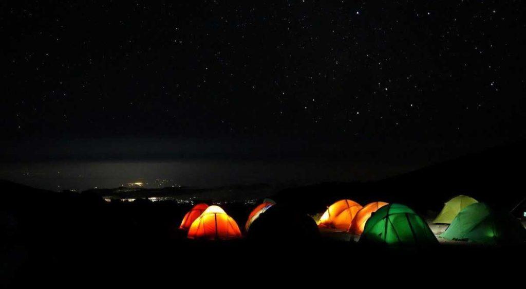 Ночлег в лагере Килиманджаро