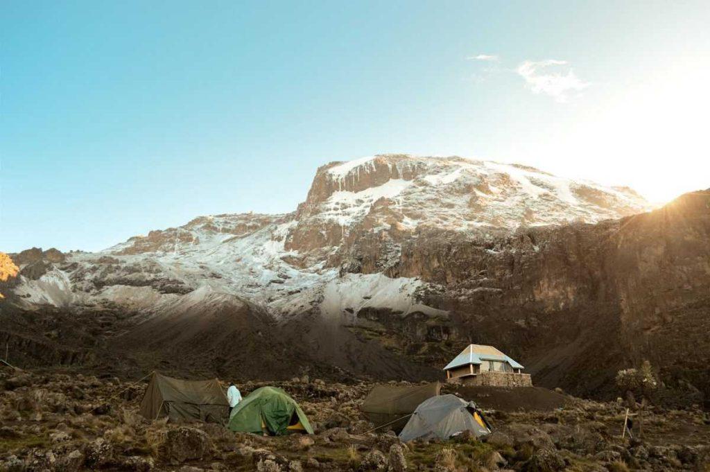 Лагерь на Килиманджаро