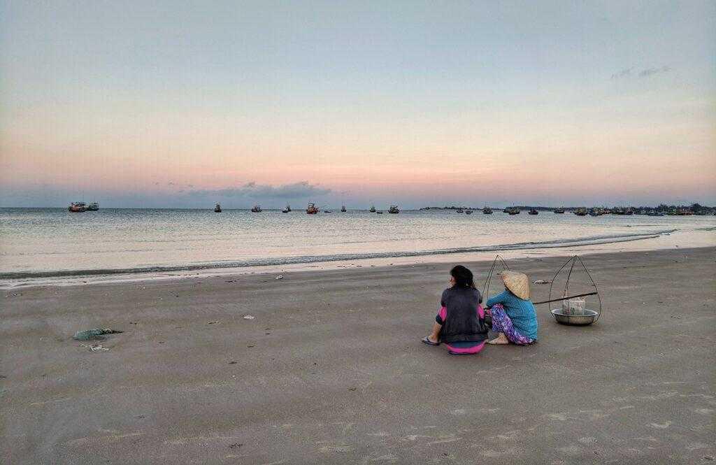 пляж во вьетнаме
