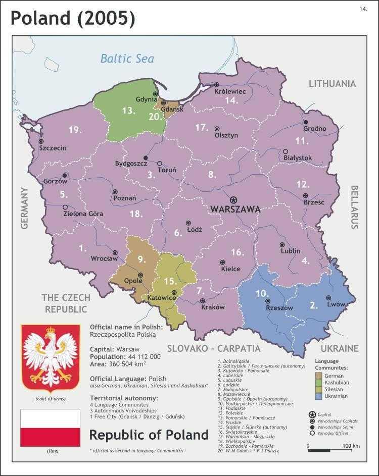 Этнический состав населения Польши