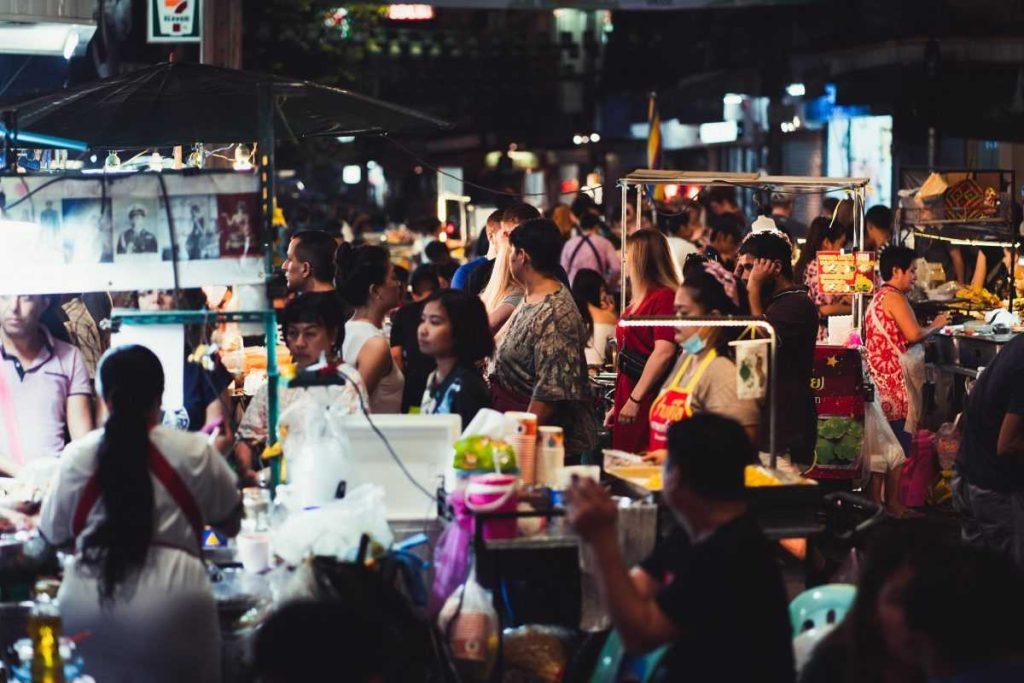 туристы таиланда
