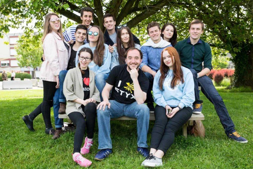 Студенты во Франции