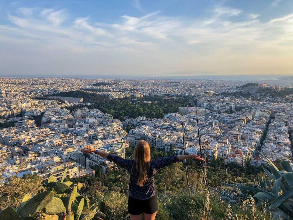 Красивый вид на Грецию