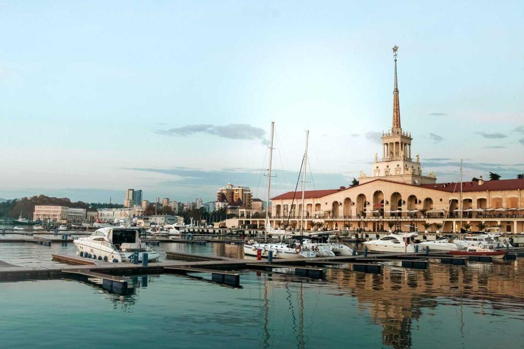Морское вокзал Сочи в настоящее время
