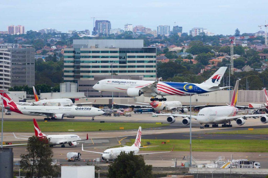 Аэропорт в Сиднее, Австралия