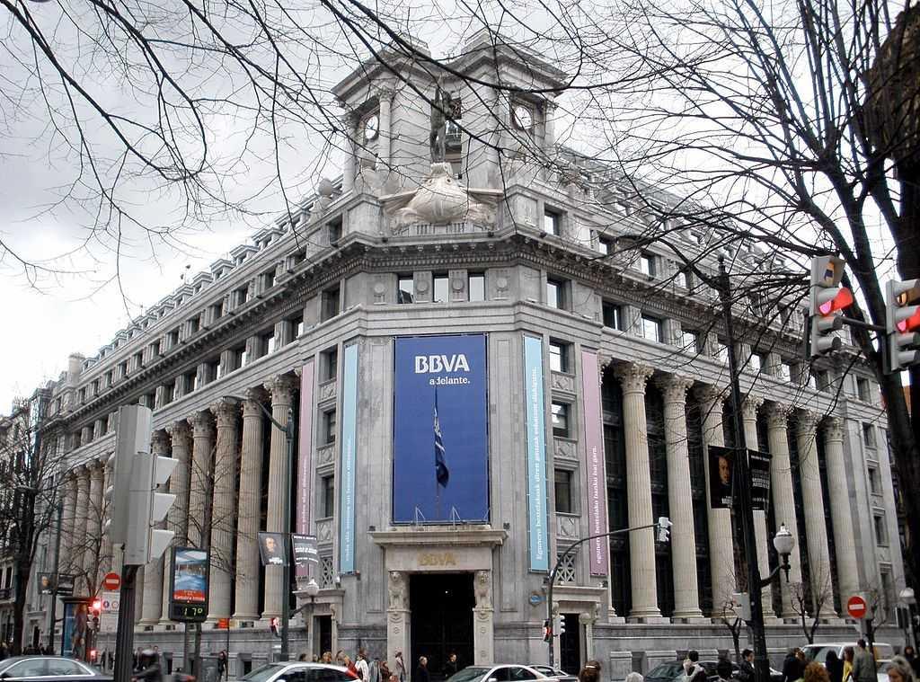 BBVA банк Испании
