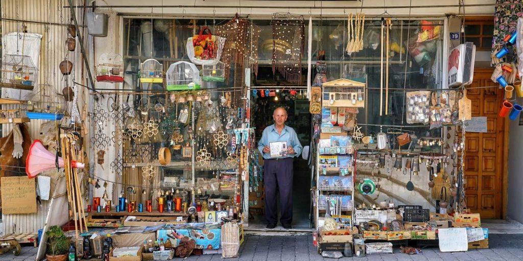 Магазин в Греции