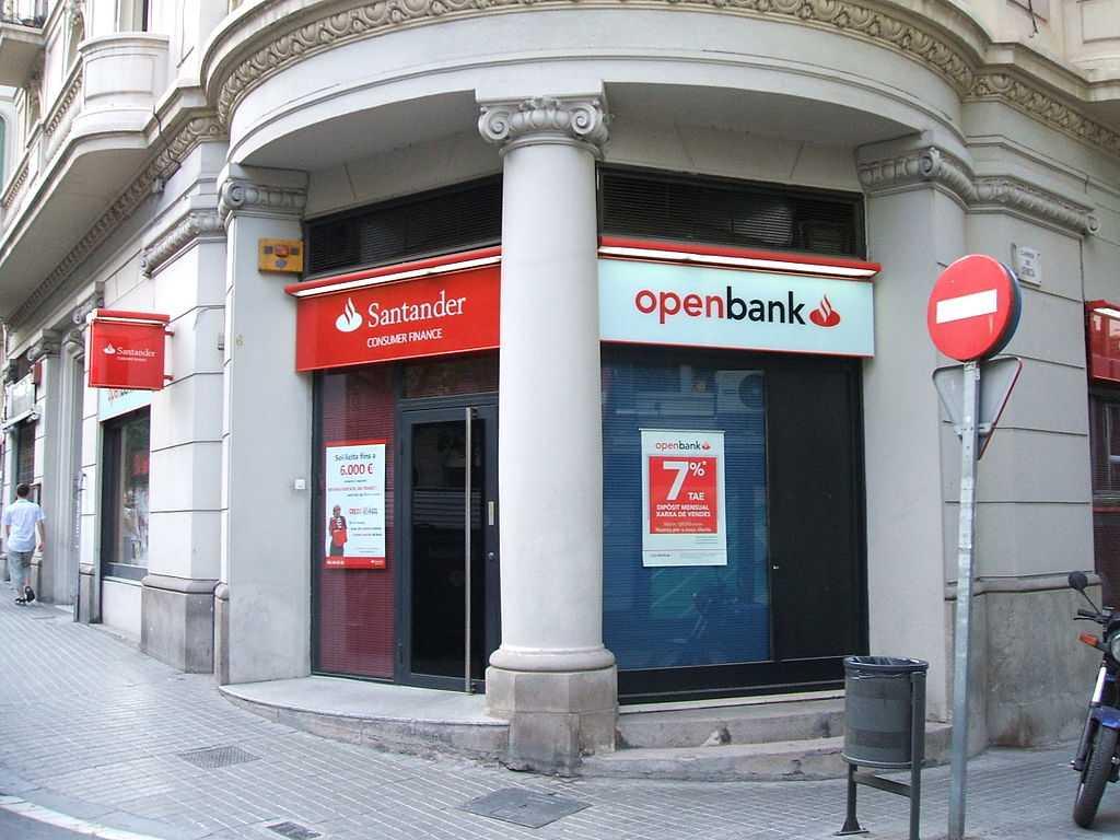 Openbank банк Испании