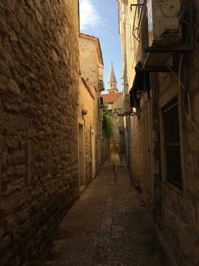 Улицы Черногории