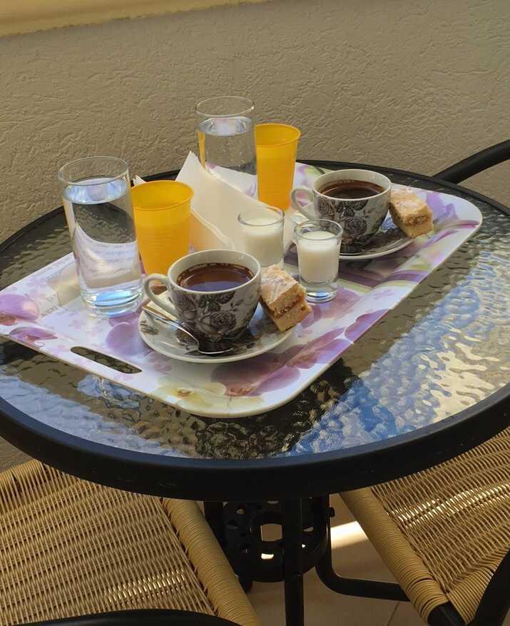 завтрак в отеле черногории