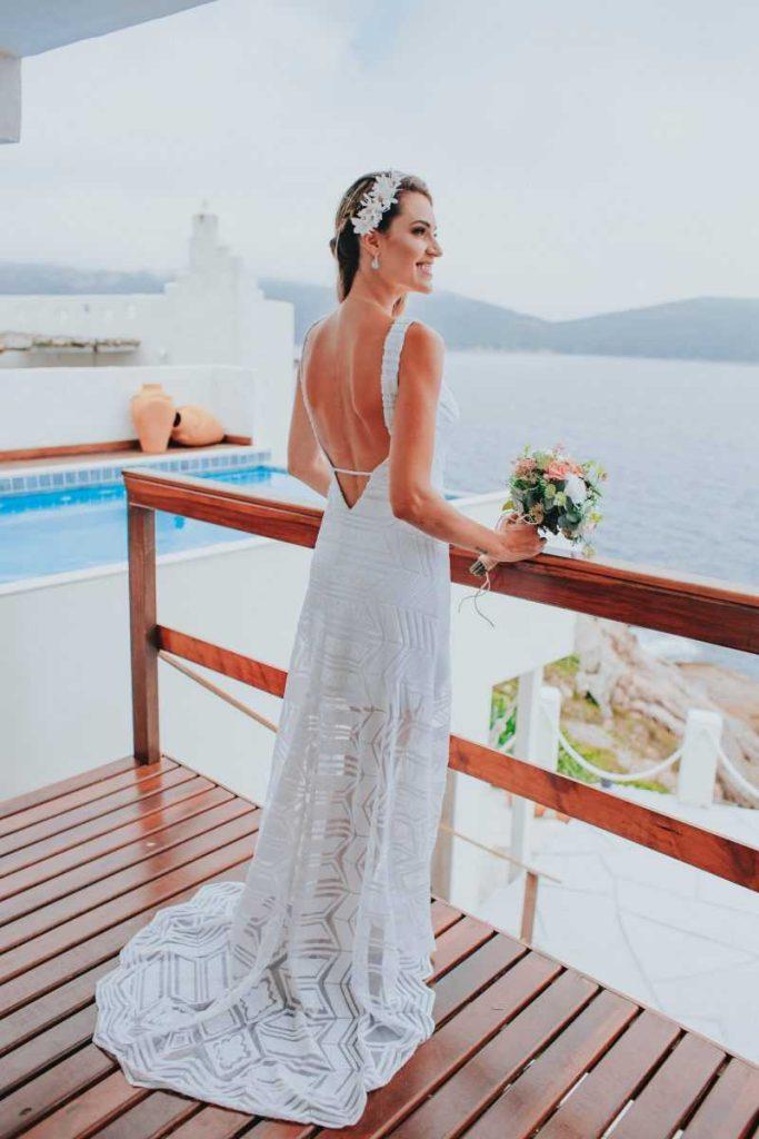 В Греции получаются необыкновенные свадебные фото