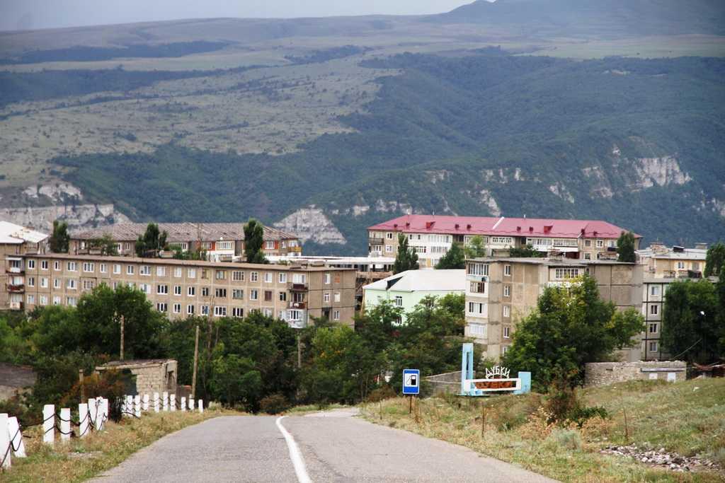 Поселок Дубки в Дагестане