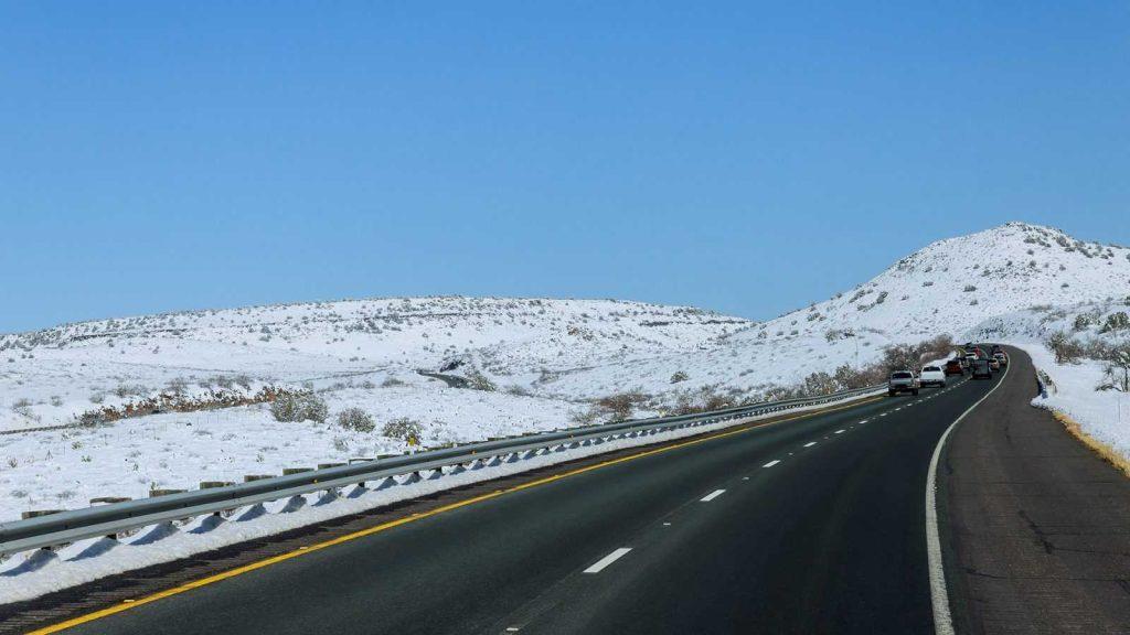 Дорога в горах Техаса