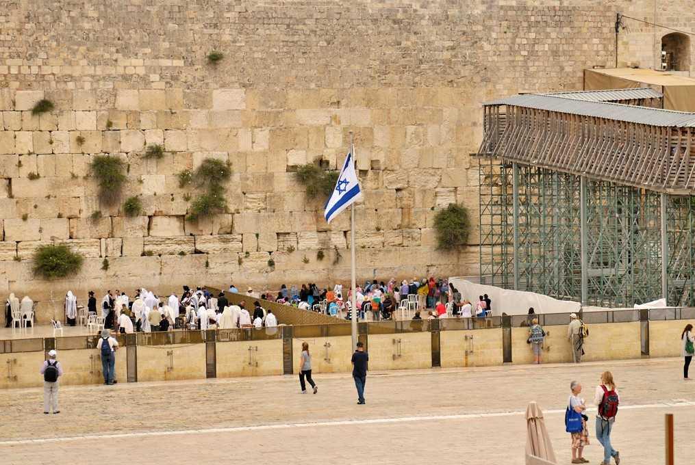 Стена плача в Израиле