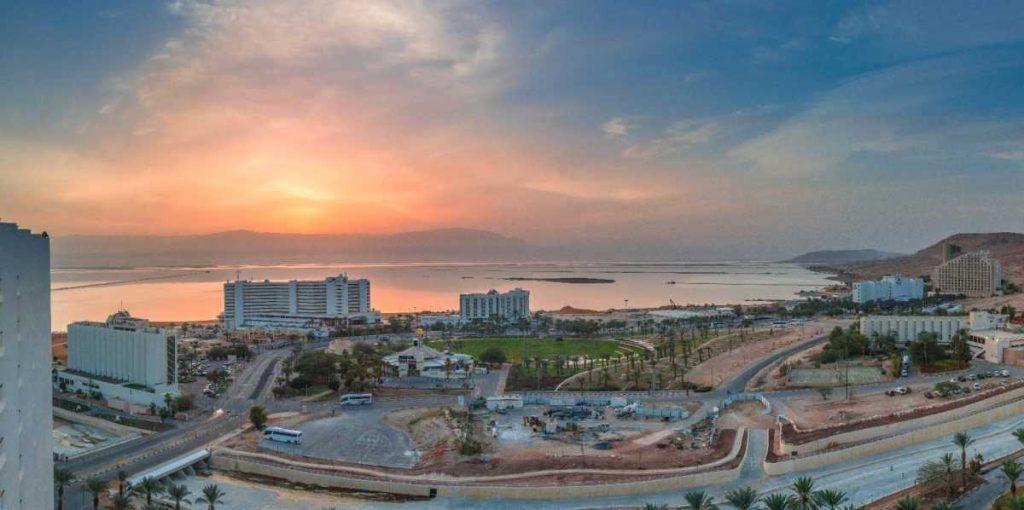 Закат в Израиле