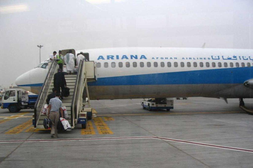 Онлайн табло аэропортов Афганистана